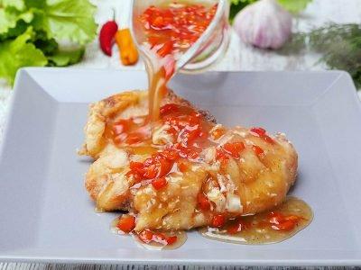 Карп в китайском соусе