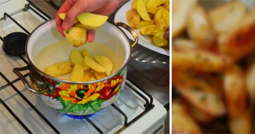 Картопля «Айдахо» - готуємо з покроковими фото