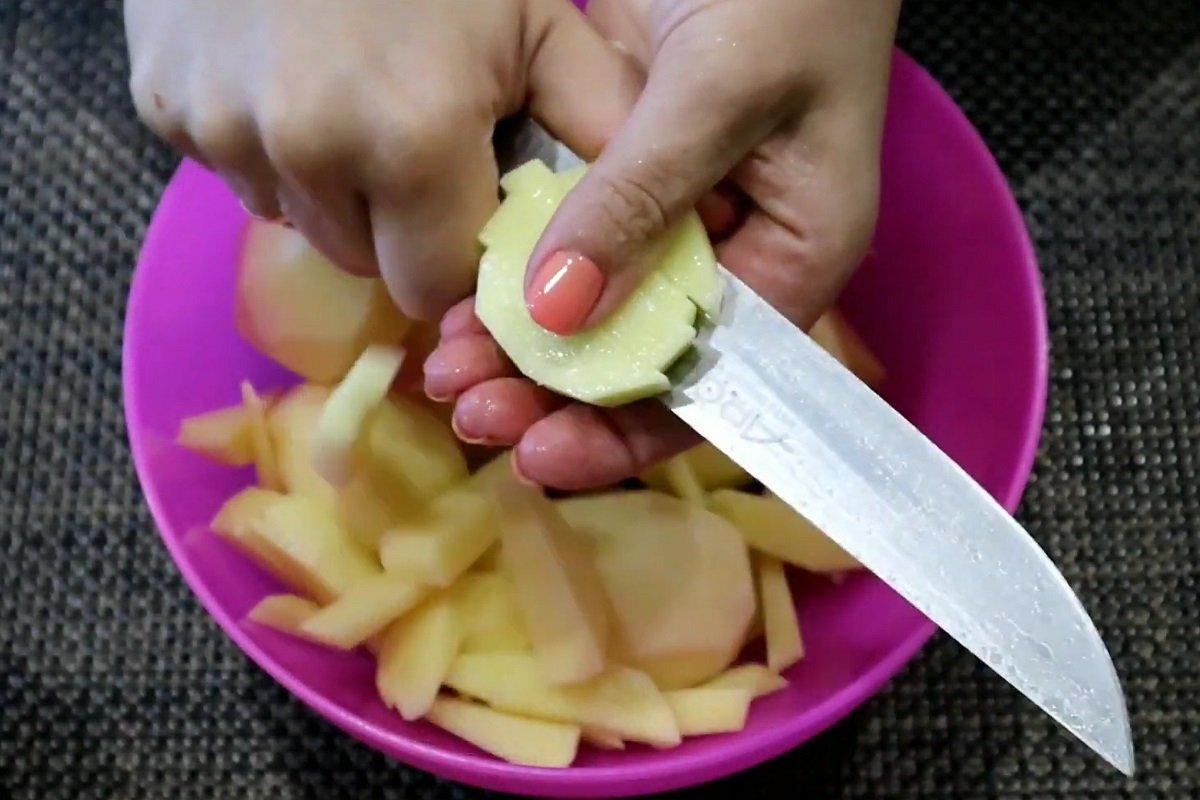 рецепт картофеля с грибами