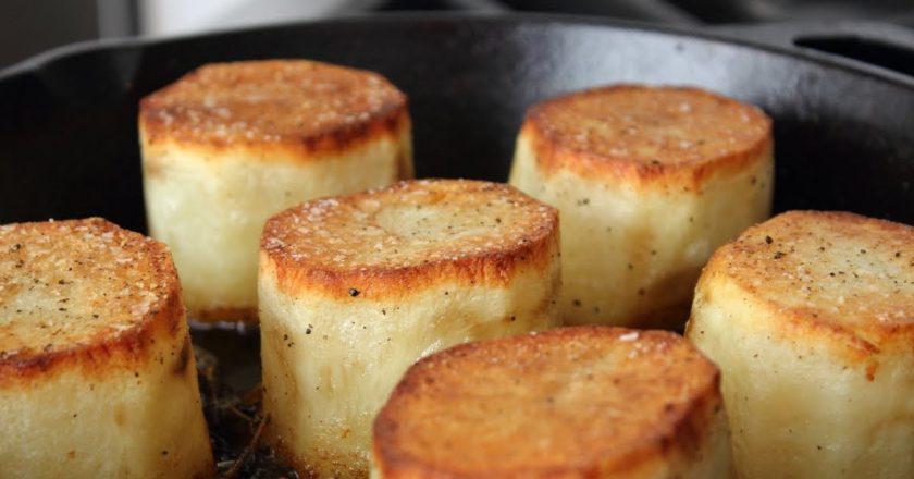 Картофель с маслом «Фондан»