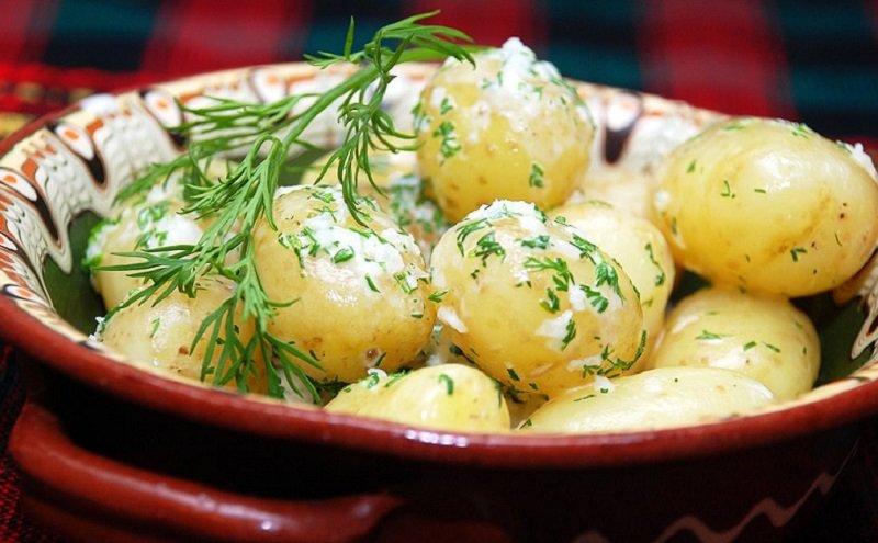 как сварить молодой картофель
