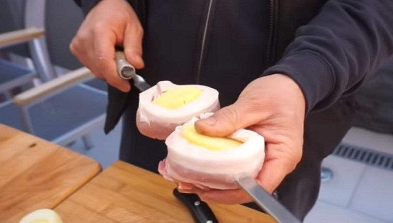 картофель в беконе фото