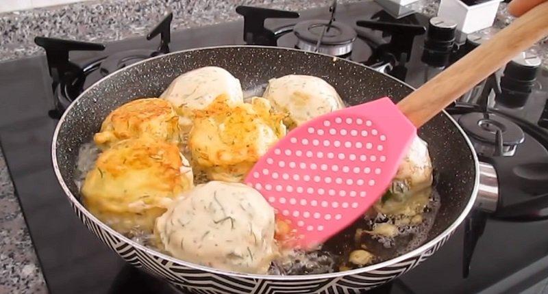 жаренный картофель в сметане