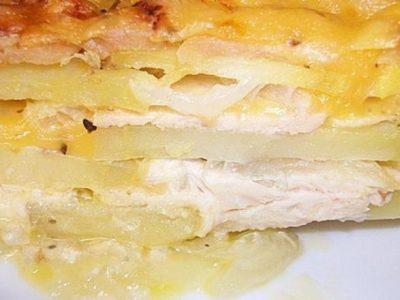 Картофель, запеченный по-болгарски