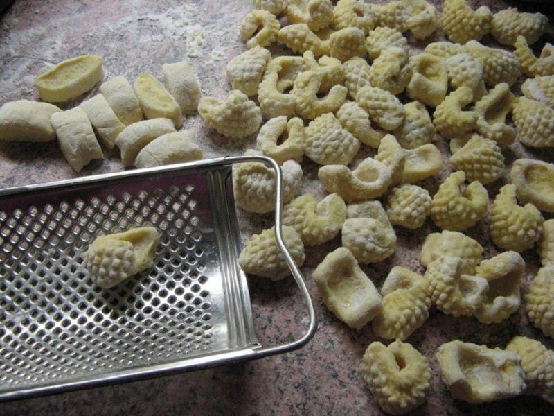 рифленые макароны