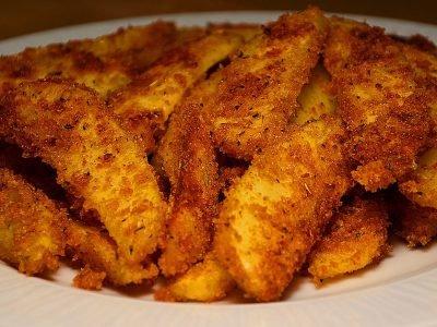 Картофельные дольки к пиву