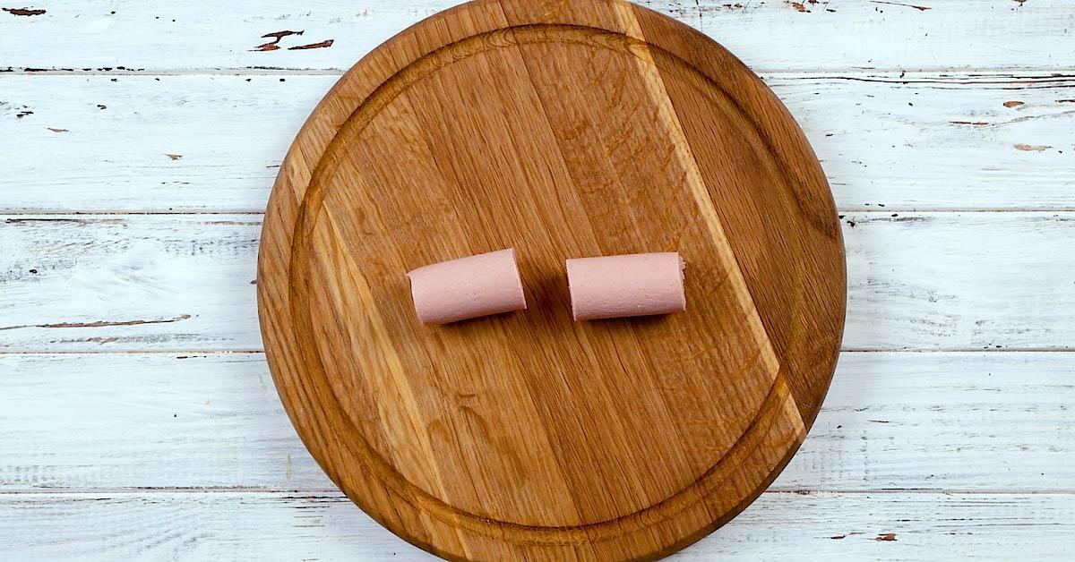 Французькі картопляні крокети з сиром і ковбасою
