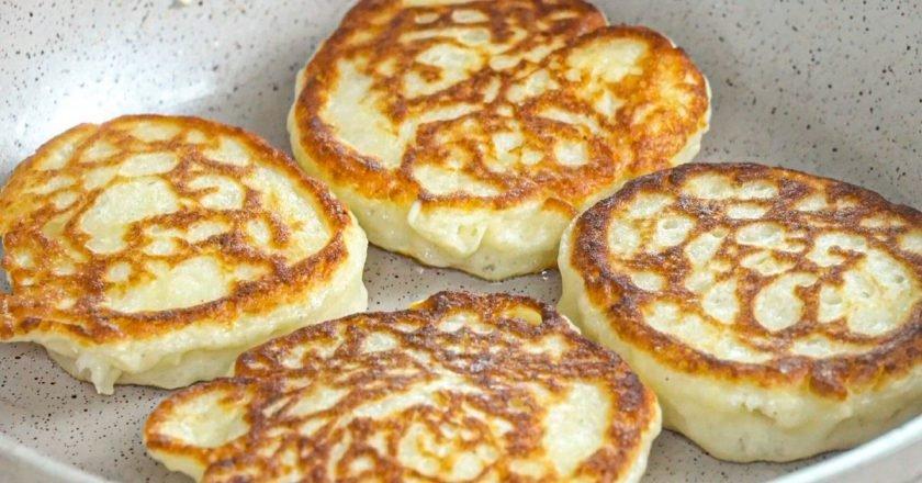 Картофельные оладьи из пюре