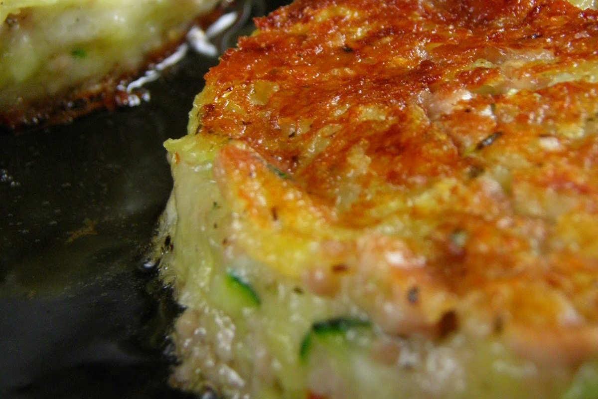 приготовление картофельных оладий