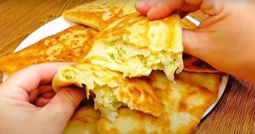 Картофельные пирожки с кабачком