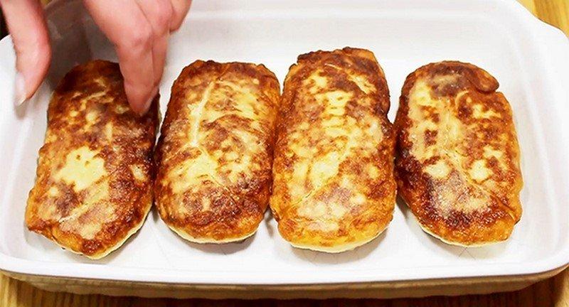 картофельные рулеты с начинкой