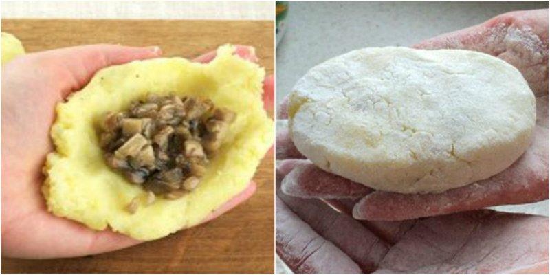 зразы с грибами рецепт