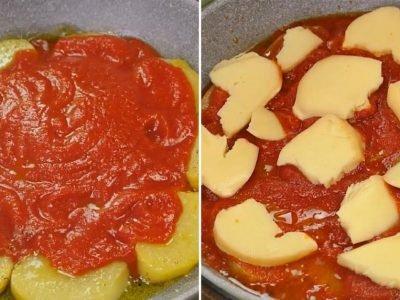 Картошка в томатном соусе за 30 минут