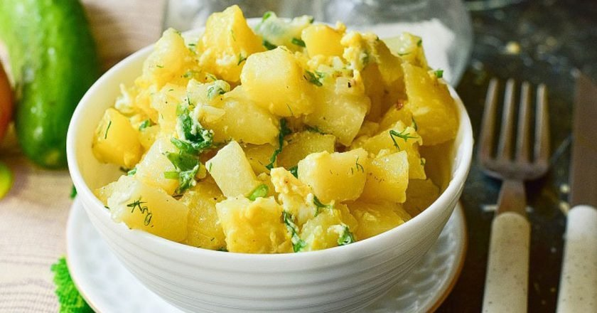 Каурма из картофеля