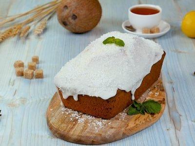 Кекс с кокосом