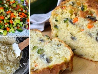 Кекс с овощами