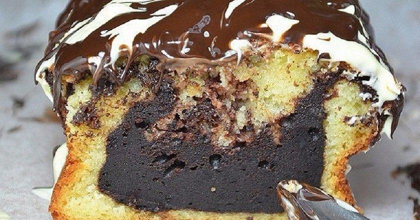 Кекс с шоколадом