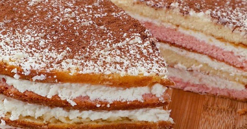 Кисельный торт