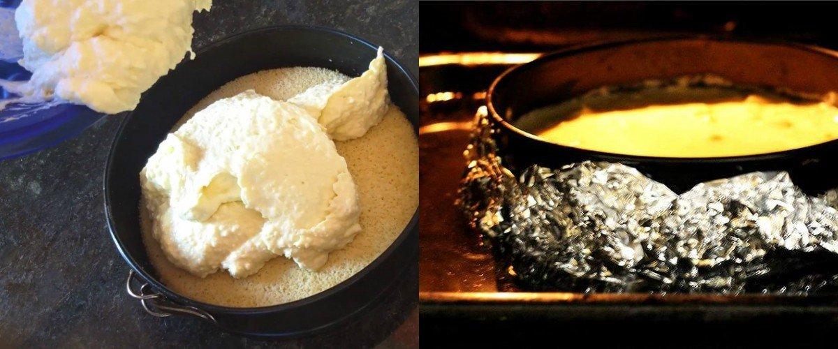 десерт с кокосовой стружкой