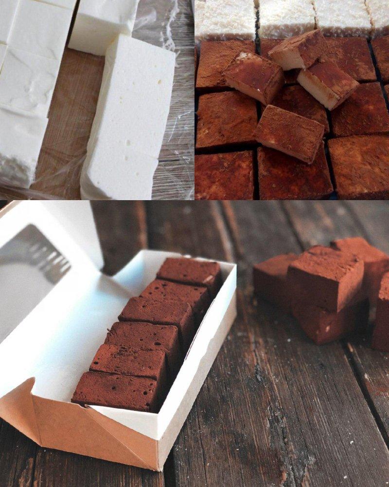 конфеты птичье молоко ручной работы