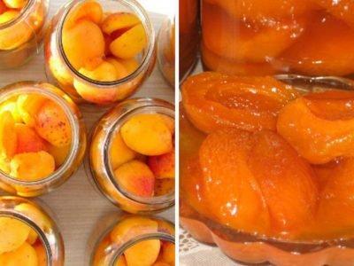 Консервированные абрикосы