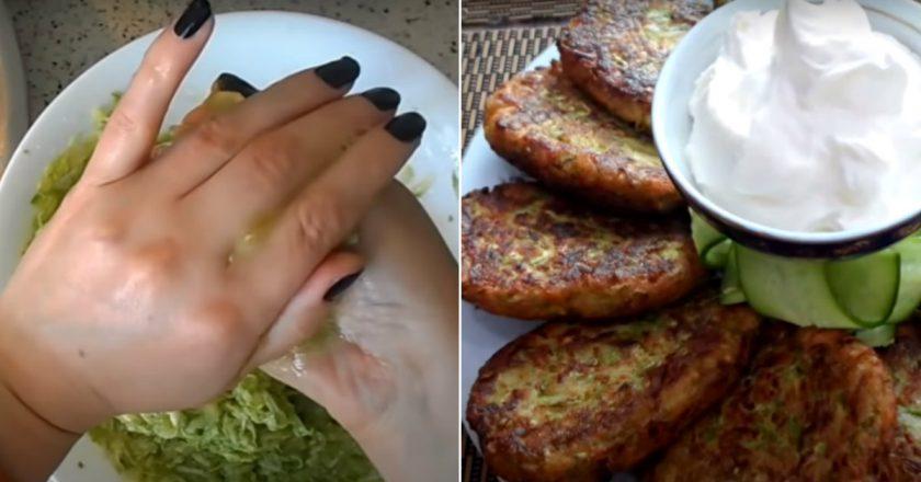 Пікантні котлети з кабачків на сковороді подивитися рецепт