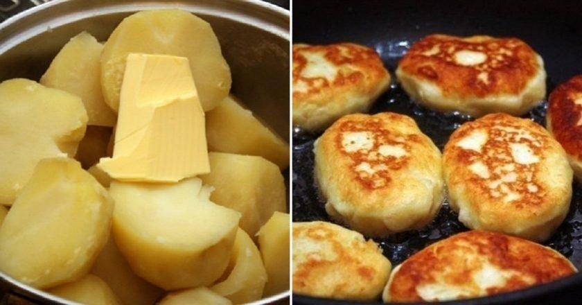 Котлетки из картофеля