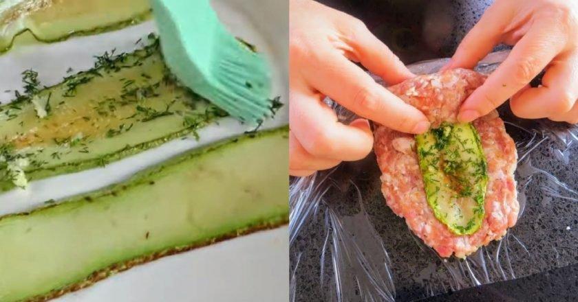 М'ясні котлети з кабачком подивитися рецепт