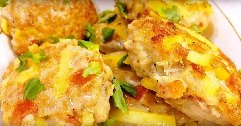 Котлеты с картофелем «Веснушки»