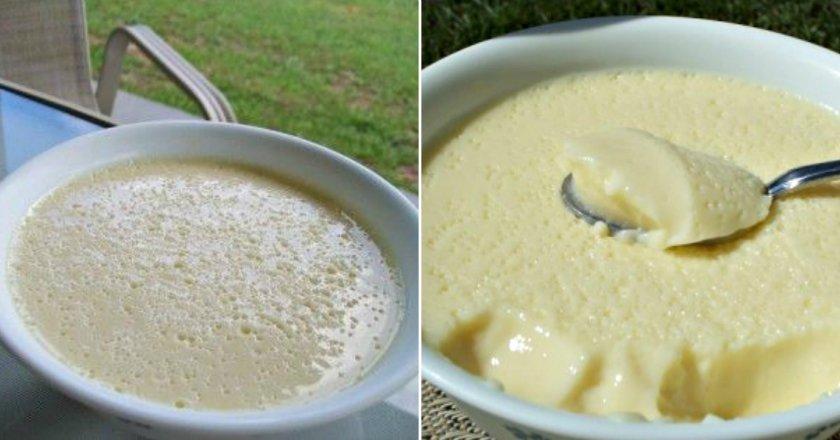 Крем-десерт - готуємо з покроковими фото