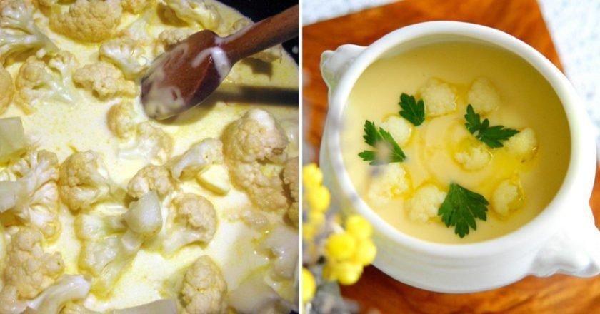 Крем-суп «Дюбарри»