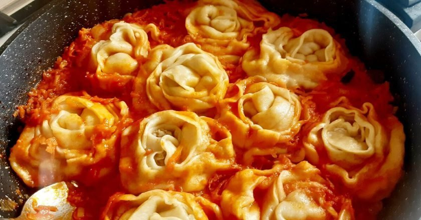 Несложное кубанское блюдо — штрумбы