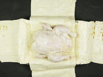 Курица в лаваше