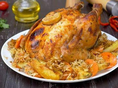 Курица в масле