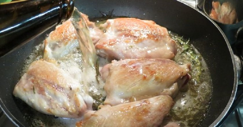 Курица в пивном маринаде
