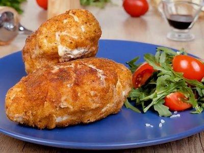 Куриная грудка с сыром по-милански