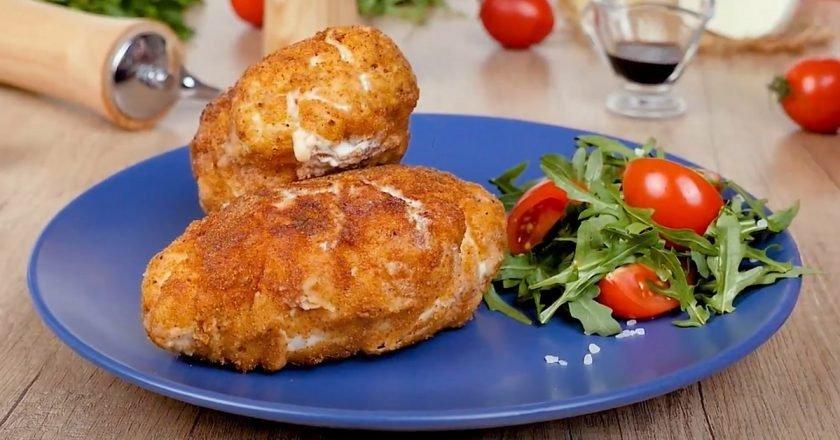 Куряча грудка з сиром по-міланськи подивитися рецепт