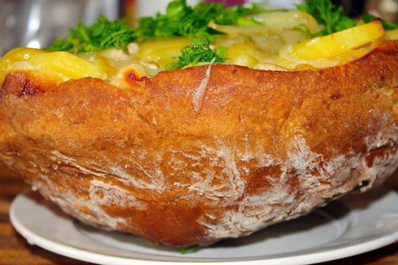 Куриная тарелка