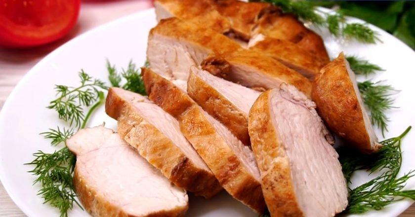 Куриное филе в соусе