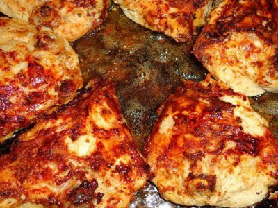 Куриные бедрышки на сковороде