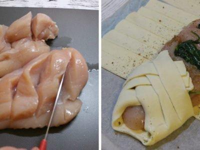 Куриные грудки в тесте