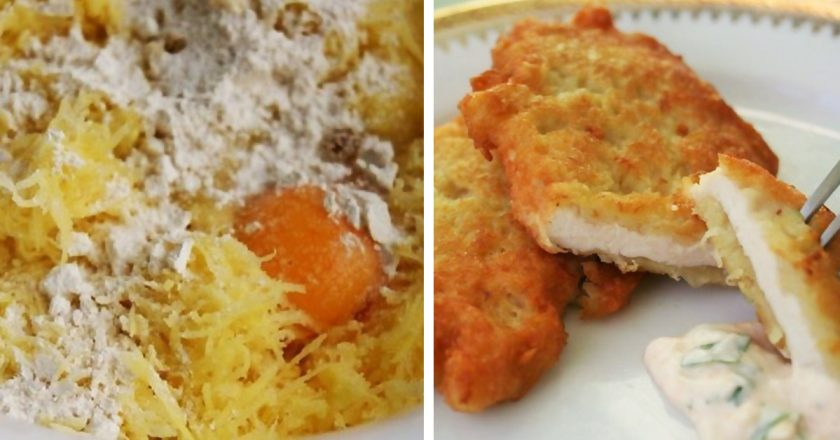 Куриные отбивные в картофельном кляре