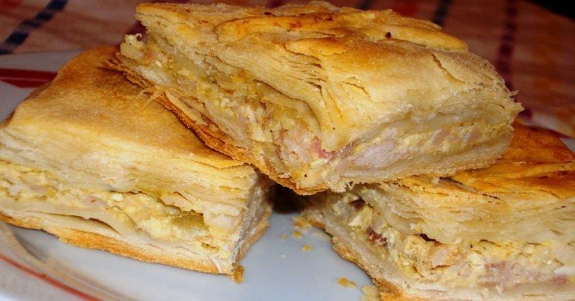Куриный пирог по-гречески
