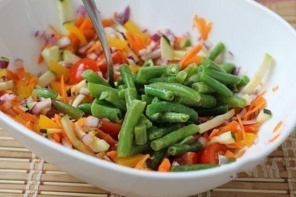куриный стейк с овощами фото рецепт