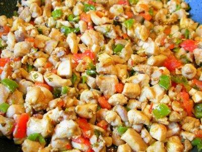 Турецкий сендвич с курицей
