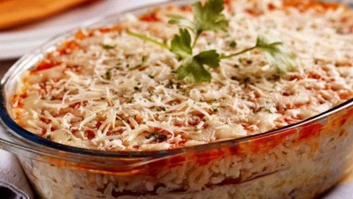 лазанья из риса