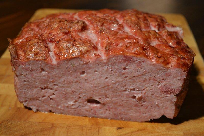 домашний мясной хлебец
