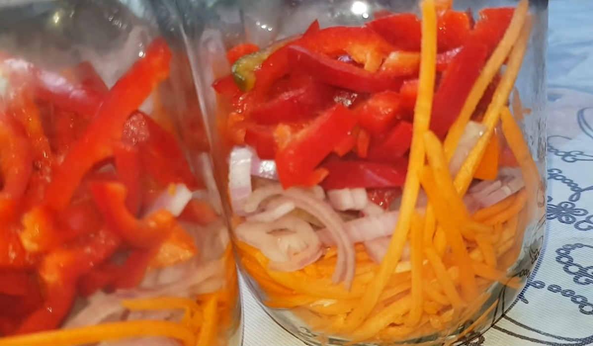 ленивый салат на зиму