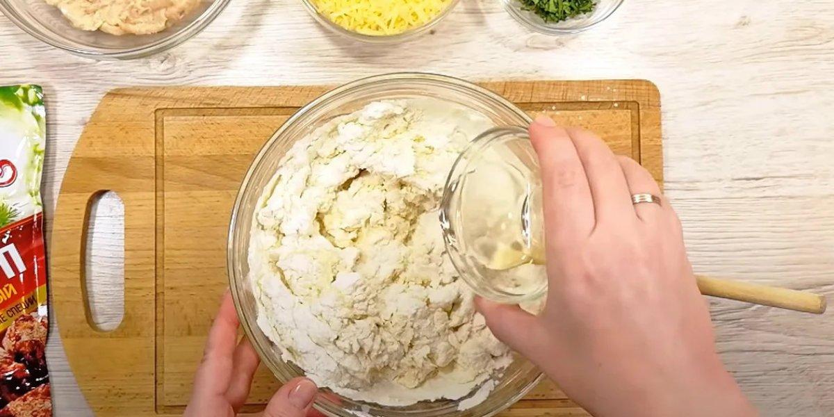 тесто для лепешки