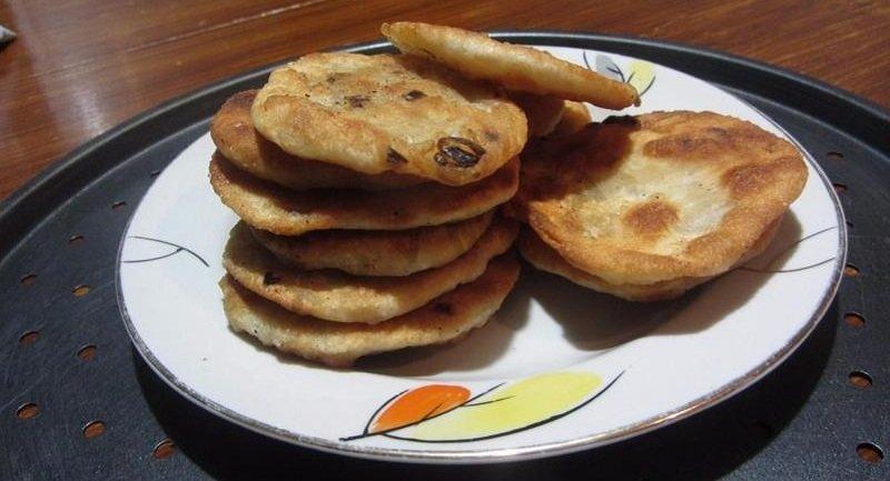 рецепт лепешек с луком